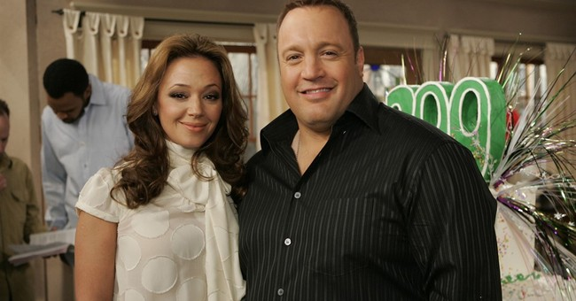Wife swap: Leah Remini joins Kevin James on 'Kevin Can Wait'