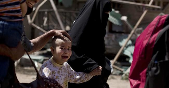 UNICEF: 100,000 children in dangerous conditions in Mosul