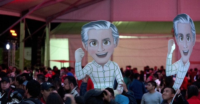 Mexico ruling party has preliminary lead in key state vote