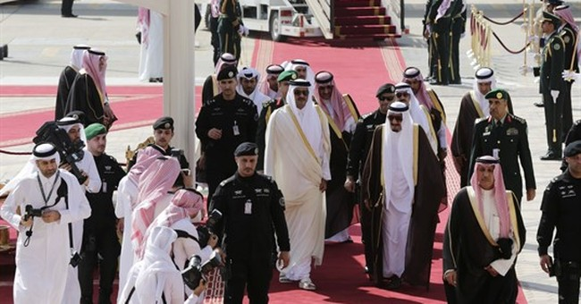 Five Arab states cut ties with Qatar