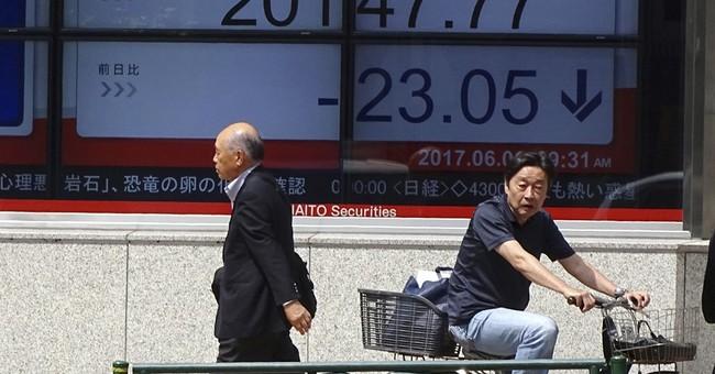 Global stocks lower as investors gauge political risks