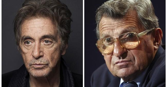 Al Pacino to star as Penn State's Joe Paterno in HBO biopic