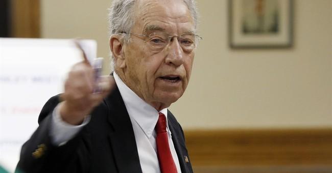 APNewsBreak: Grassley says VA lied about Iowa wait times