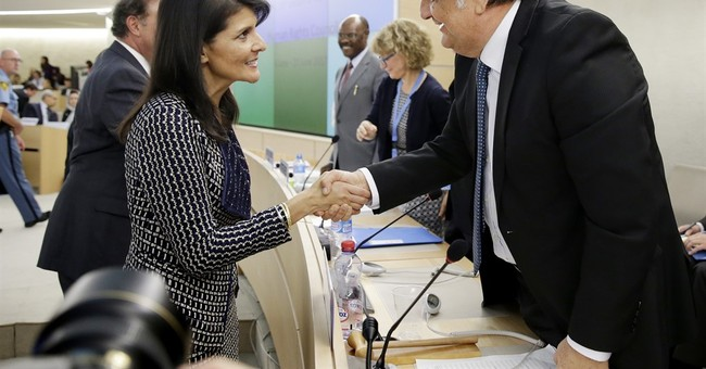 US envoy Haley berates UN rights council, demands reforms