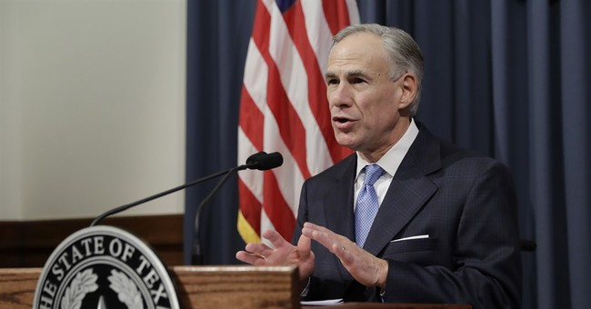 Texas governor out to quiet doubts over who's in charge