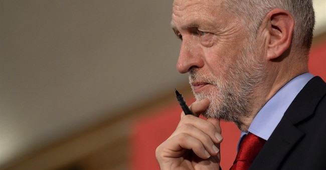 Corbyn trying to shed rebel image to win UK election