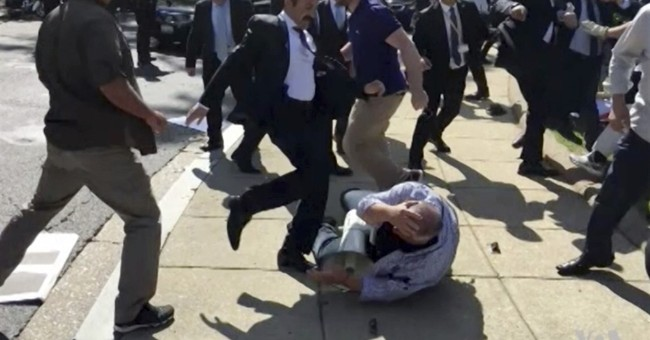 Turkey rejects US resolution condemning bodyguards' attacks