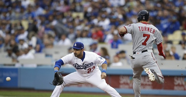 Scherzer strikes out 14 in Nationals' 2-1 win over Dodgers