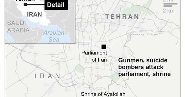 The Latest: Australia condemns attacks in Iran