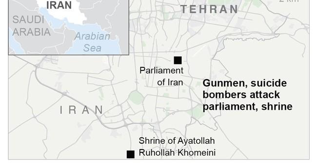 The Latest: Report: Iran investigating Saudi role in attacks