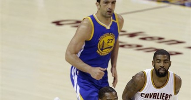 The Latest: Durant, Warriors rally to beat Cavs 118-113