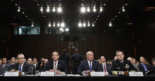 The Latest Senate panel heads back reauthorizing intel law