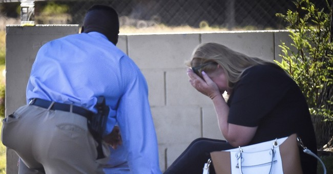 California police kill man with rifle who fired at them