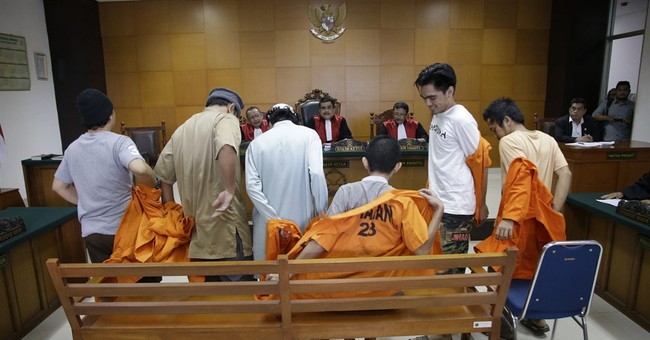 Indonesia sends Singapore rocket plot militants to prison