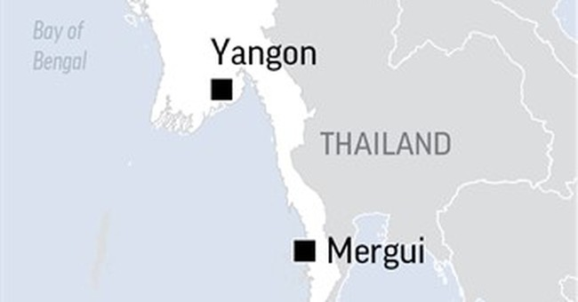 The Latest: Missing Myanmar plane had 15 children on board