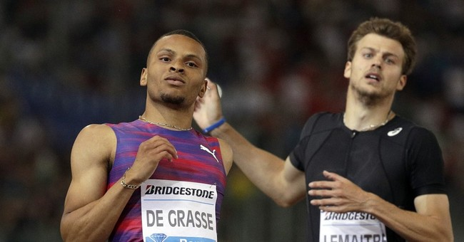 De Grasse dominates 200, Merritt 1st DL win since kidney op