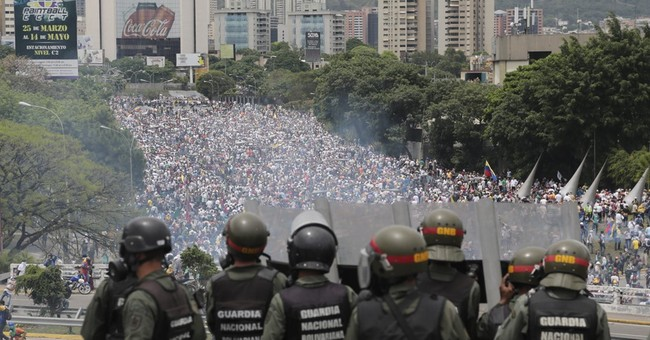 All eyes on Venezuelan military as country teeters
