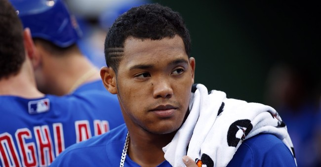 Cubs' Addison Russell calls wife abuse allegation 'false'