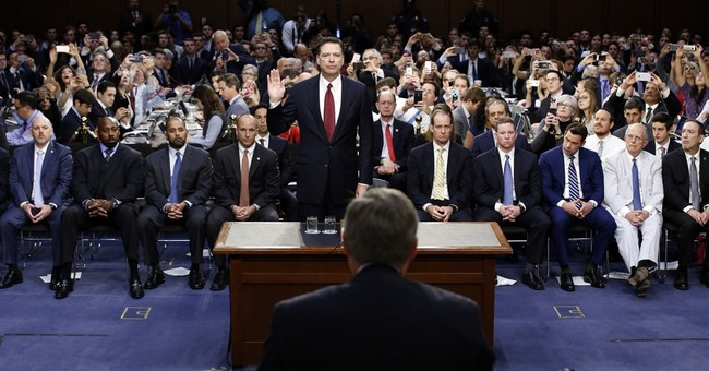 Coverage of Comey testimony plays out with partisan spin