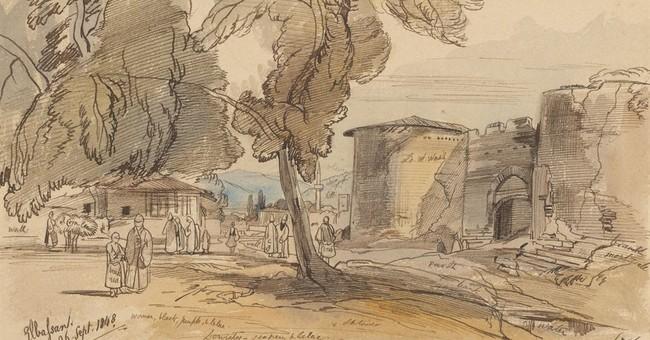 Albania promotes Via Egnatia with Edward Lear's sketches