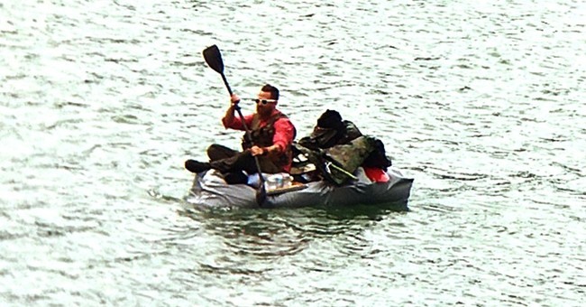 Coast Guard pulled man from failing duct-taped boat