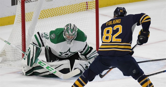 Eichel scores twice in Sabres' 4-1 win over Stars