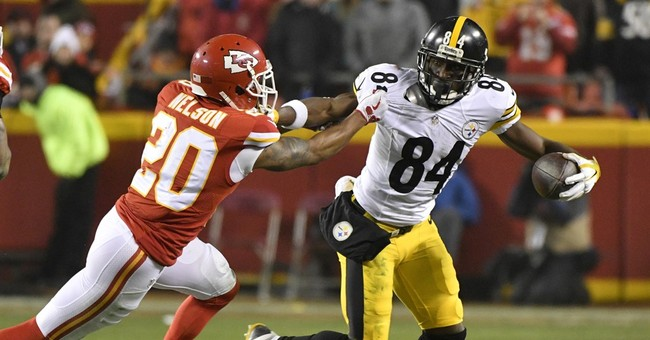 Steelers WR Antonio Brown apologizes for livestreaming video