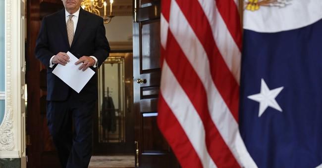 The Latest: Trump blames Qatar for funding terror