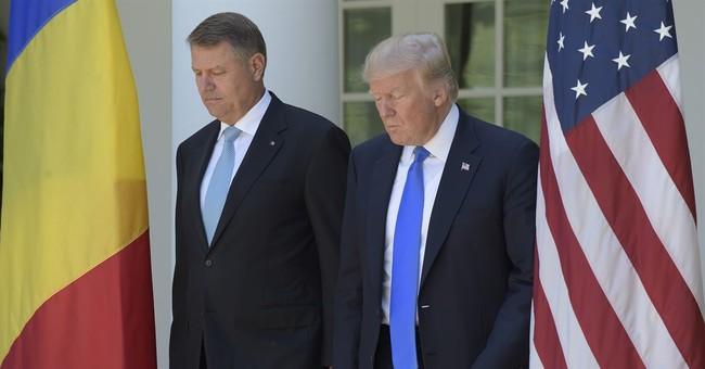 Trump commits to NATO mutual defense after hesitating