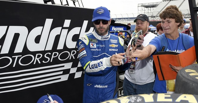 NASCAR star Jimmie Johnson ready to race after cancer scare
