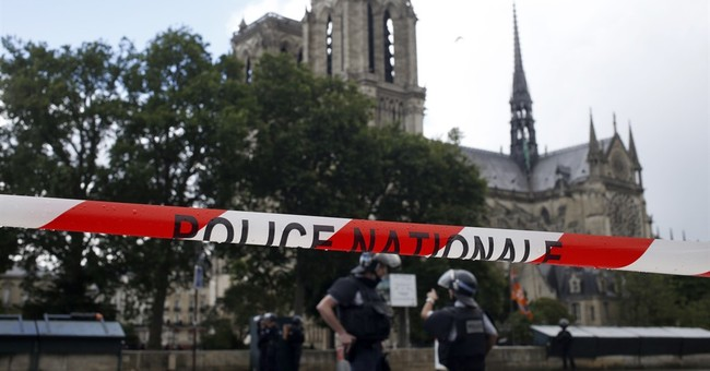 Paris prosecutor charge Notre Dame attacker