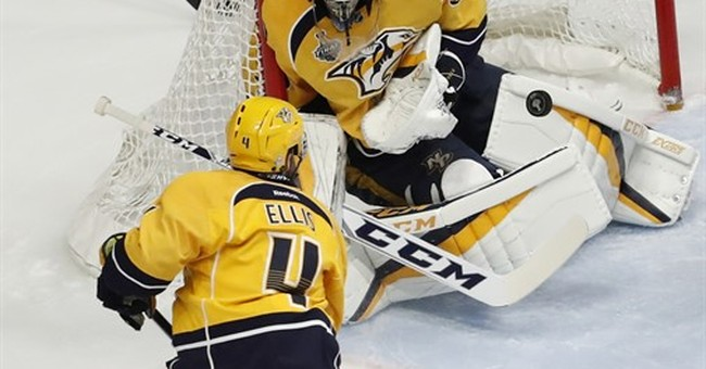The Latest: Pittsburgh wins 2nd straight Stanley Cup title