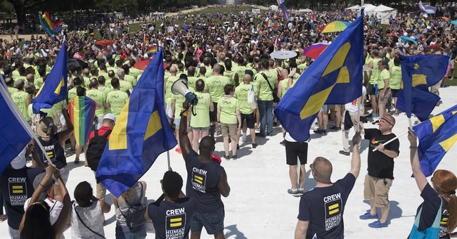 A mix of pride and anger at LGBT rights marches across US