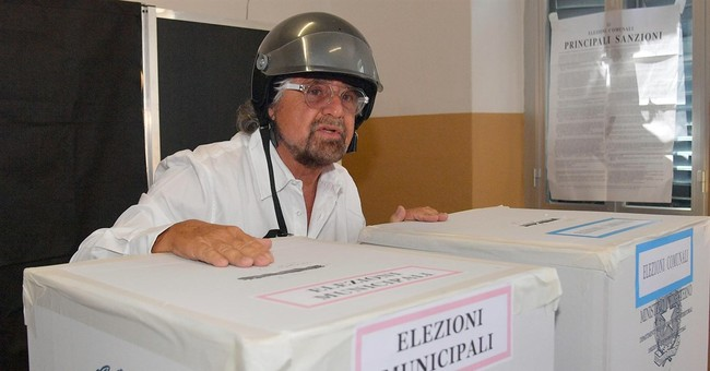 Populists' surge in Italy stops in voting for Italy's mayors