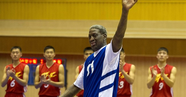 Highlights of Dennis Rodman's past visits to North Korea