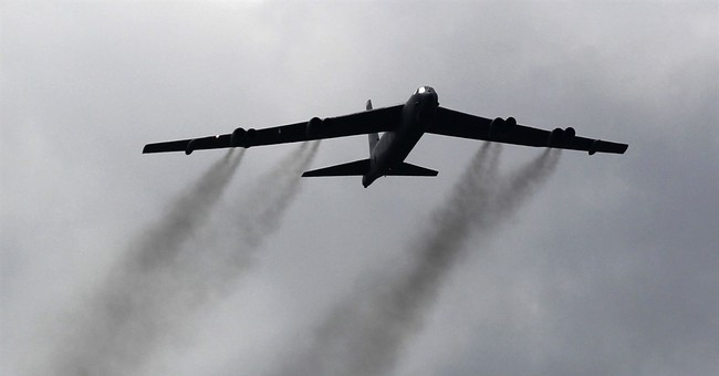 US military: American bombers show commitment to NATO allies