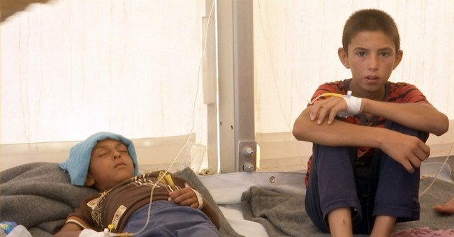 Iraq: Food poisoning strikes hundreds at camp for displaced