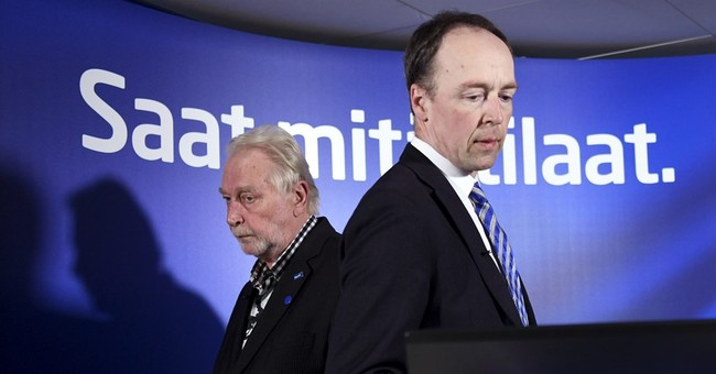 Finnish PM starts talks with secessionists to stay in power