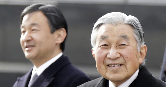 Japan crown prince vows to be devoted emperor like father