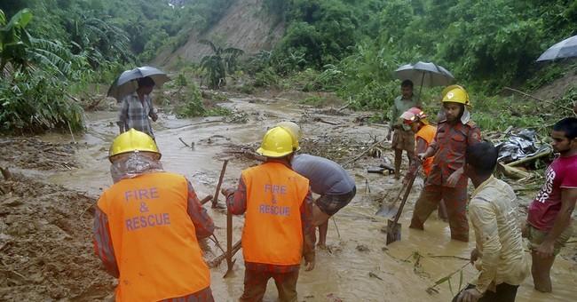Destruction, debris mar Bangladesh mudslide rescue; 140 dead