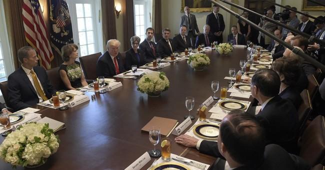 Trump tells senators House health bill 'mean'
