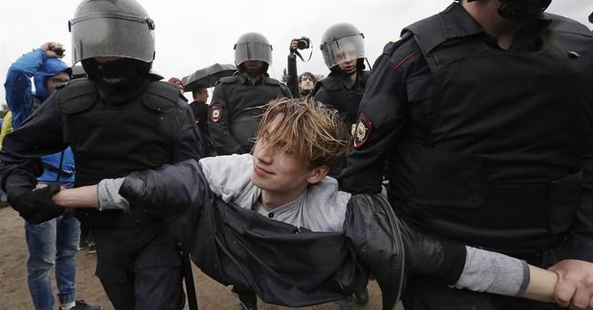 Kremlin rejects US criticism of Russian protest arrests