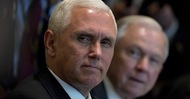 AP FACT CHECK: Pence's Obamacare 'death spiral' chart