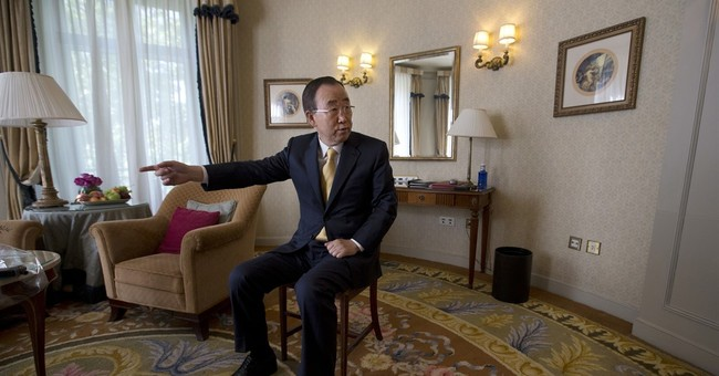 AP Interview: Ex-UN chief says Trump must rethink on climate