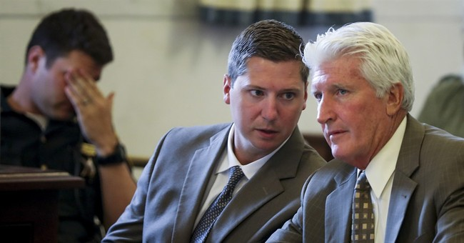 Judge rejects request for new charge in Ohio police retrial