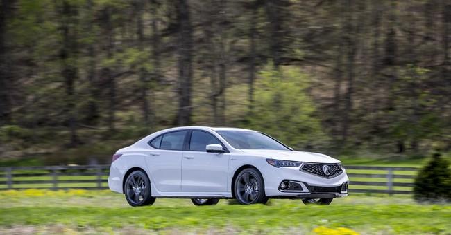 Acura's 2018 TLX a bargain of an entry-level luxury sedan