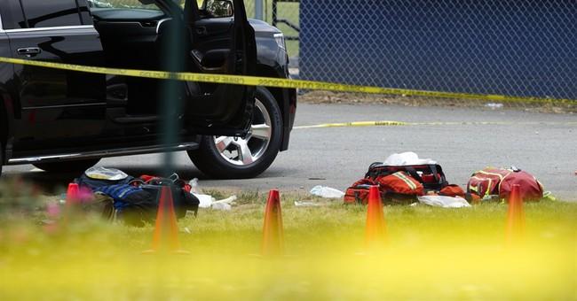 A morning's baseball drill becomes an assault on Republicans