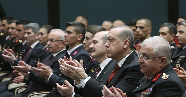 Turkish president slams US charges for guards