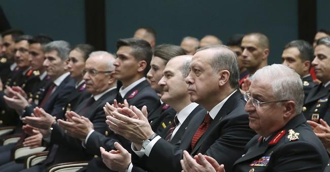 Twelve people linked to Turkish security face arrest after Washington brawl