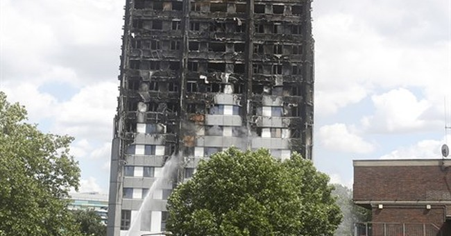 London high-rise fire: Cladding may have helped spread blaze